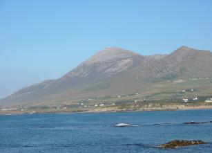 Croagh Patrick mountain, also known as The Reek